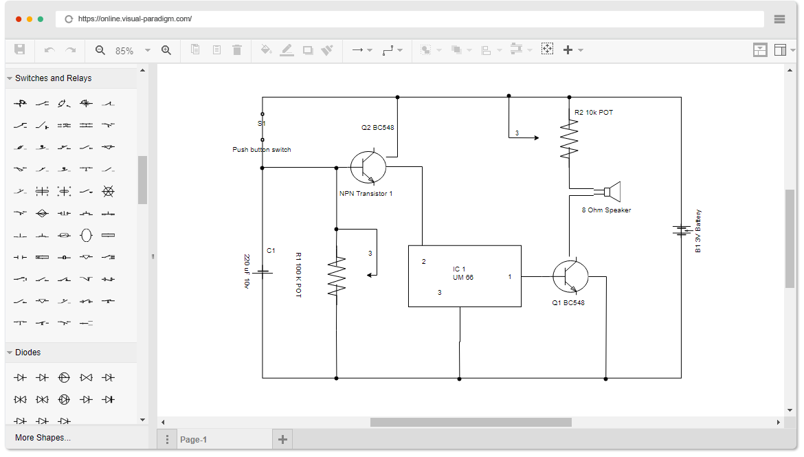Free Circuit Diagram Software