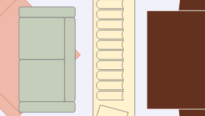 Dining floorplan template: Open Dinning Area (Drawn with the online Floor Plan software)