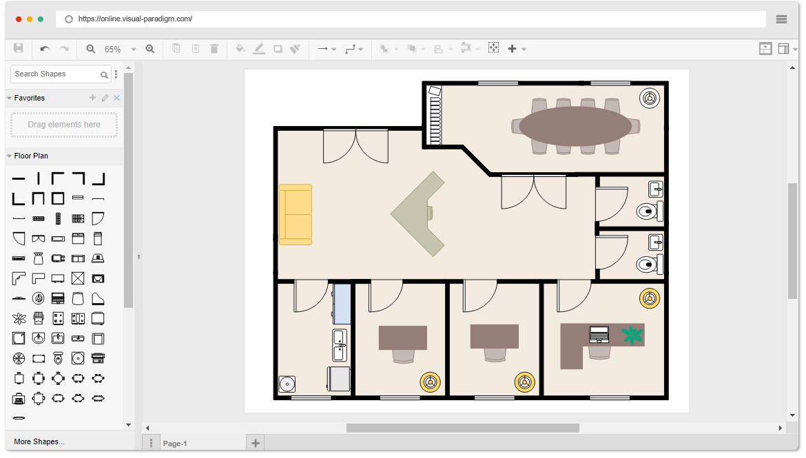 floor plan template - Bodum