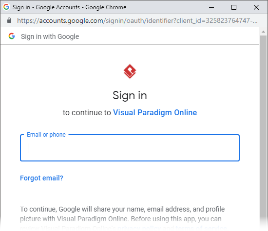 Log in with your Gmail password