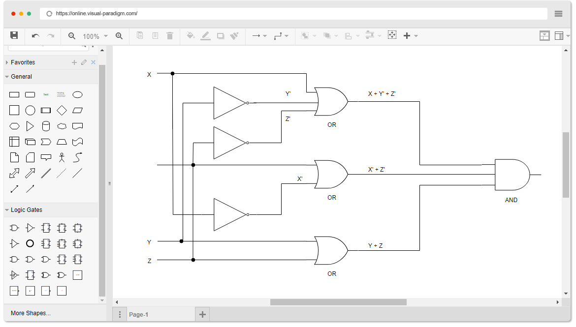 logic diagram software draw a schematic diagram of nitrogen cycle