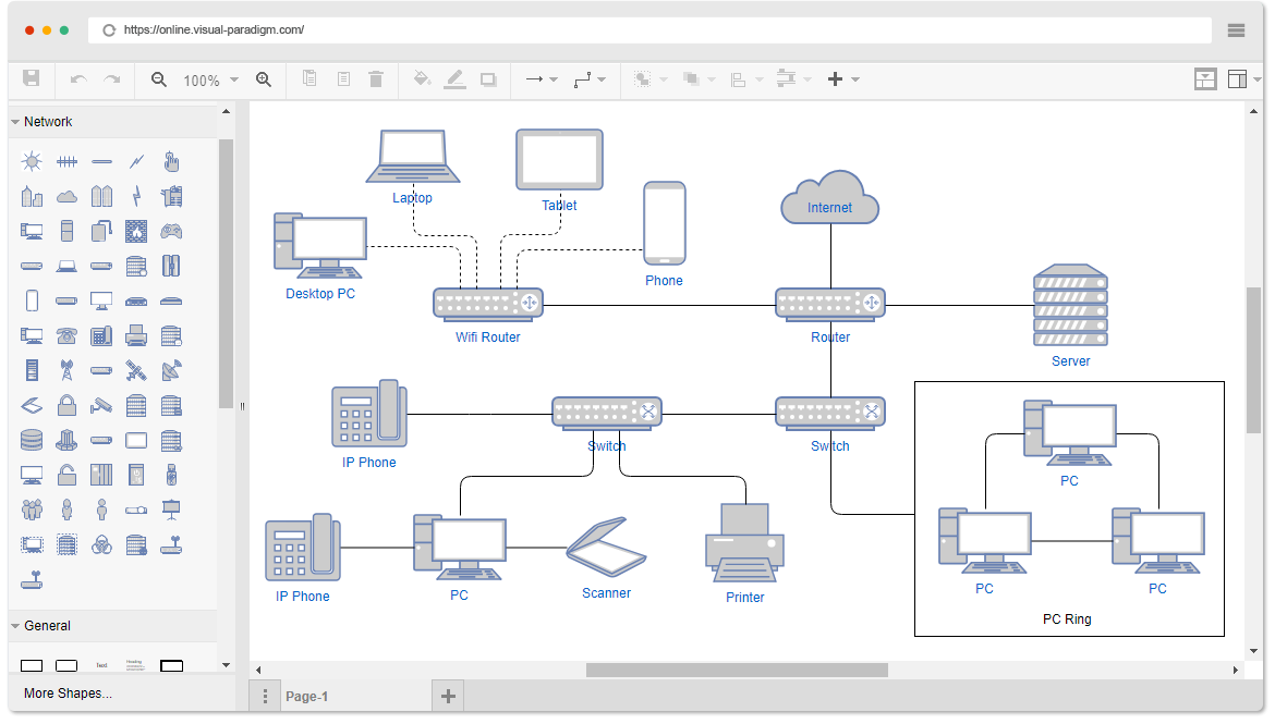 Free Network Diagram Software