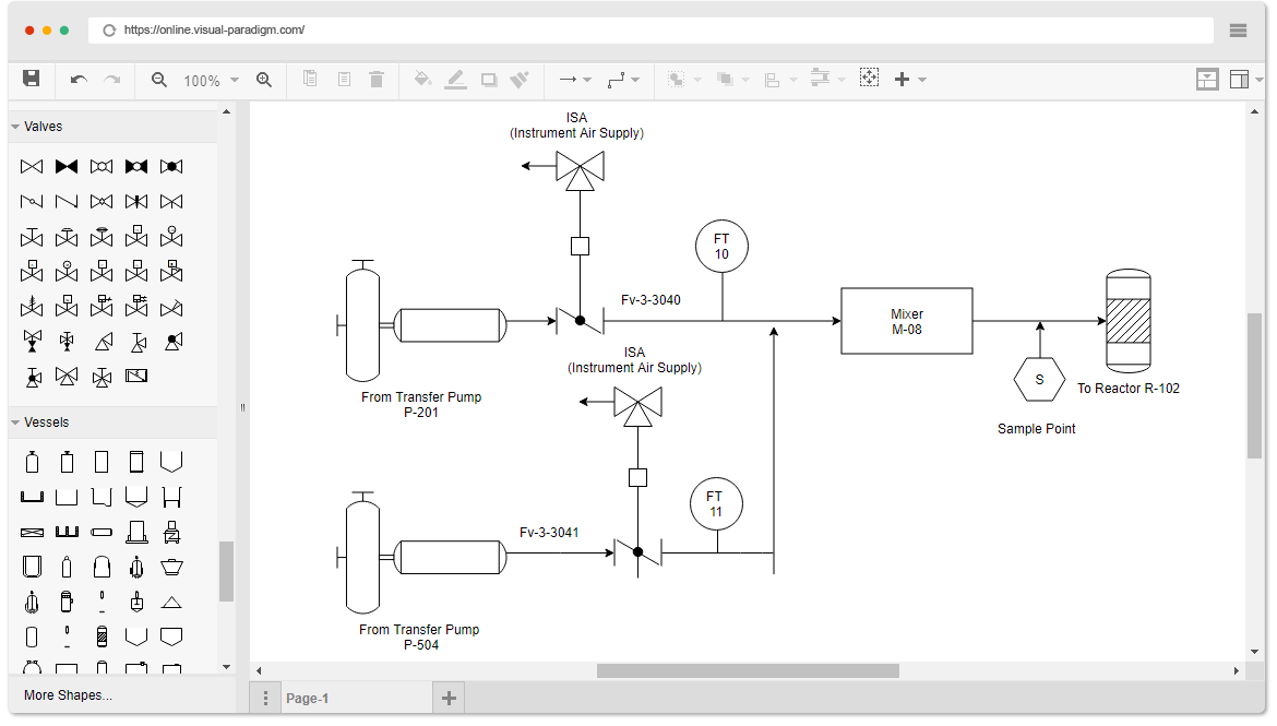 Piping And Instrumentation Diagram P Id Software