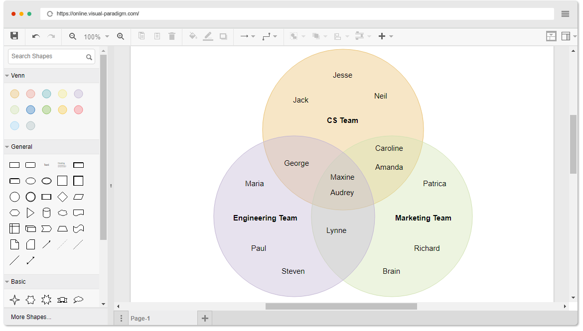 Online drawing software venn diagram ccuart