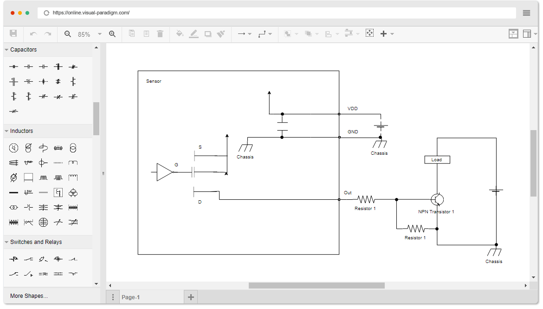 [DIAGRAM_5LK]  Schaltplan-Software | Wiring Diagram Software Free |  | Visual Paradigm Online