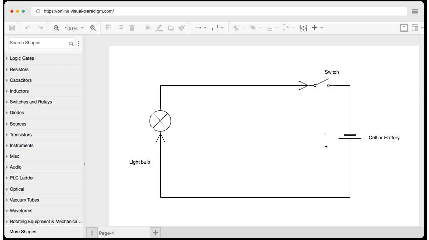 Logic Diagram Generator Online - Catalogue of Schemas