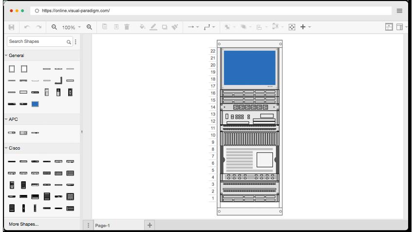 Free Rack Diagram Software