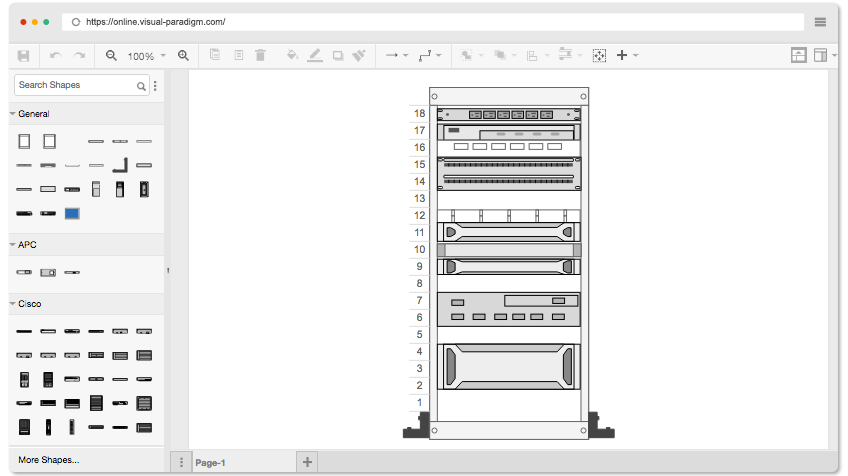 Free Rack Diagram Software
