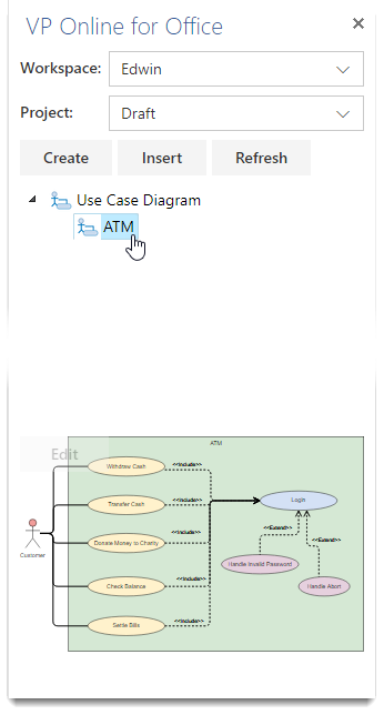 Embed Diagrams In Ms Office 365 How To