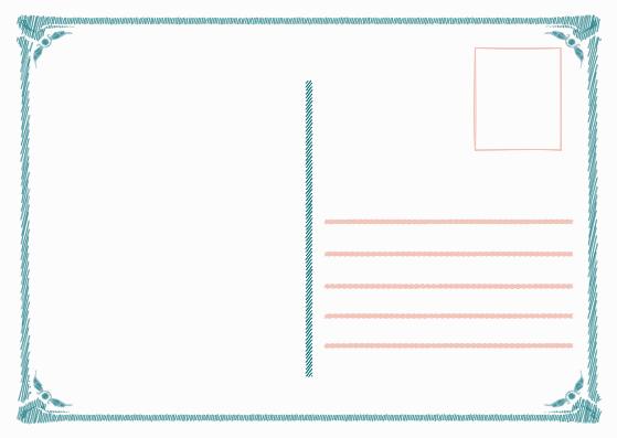 Postcard template: Sketch Children's Day Postcard (Created by InfoART's Postcard maker)