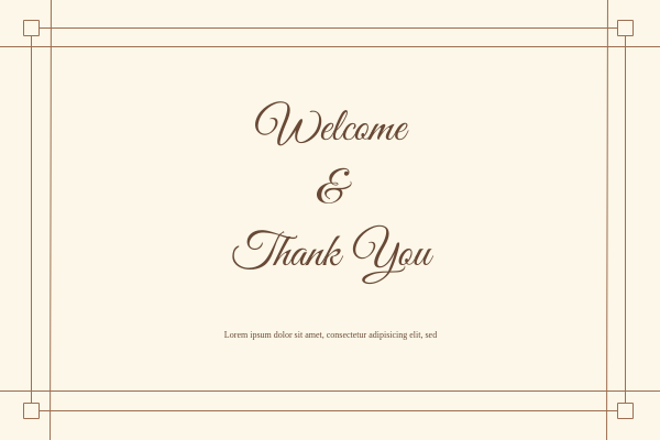 Greeting Card template: Thank You Greeting Card (Created by InfoART's Greeting Card maker)
