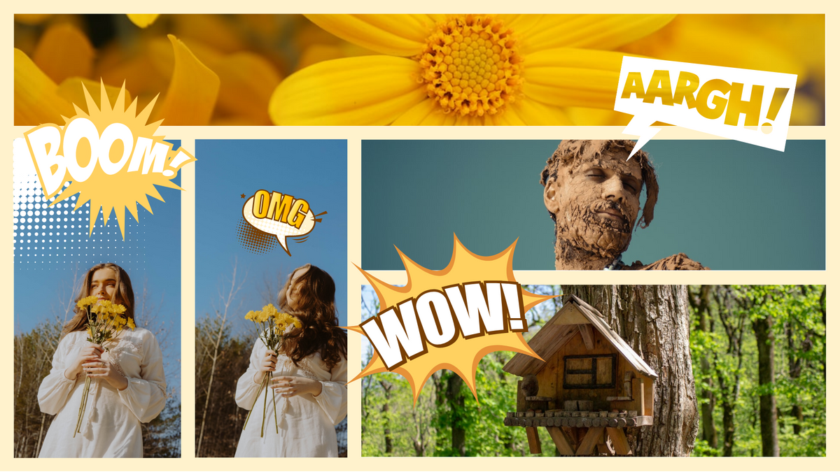 Comic Strip template: Build A Bird House Comic Strip (Created by Collage's Comic Strip maker)