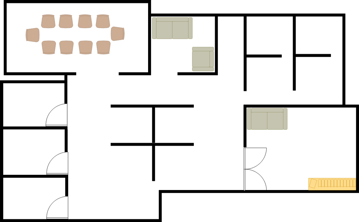 Office Layout Seating Plan (Seating Chart Example)
