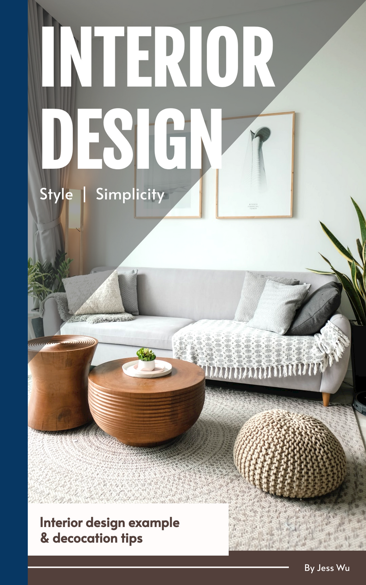 Book Cover template: Interior design Book Cover (Created by InfoART's Book Cover maker)
