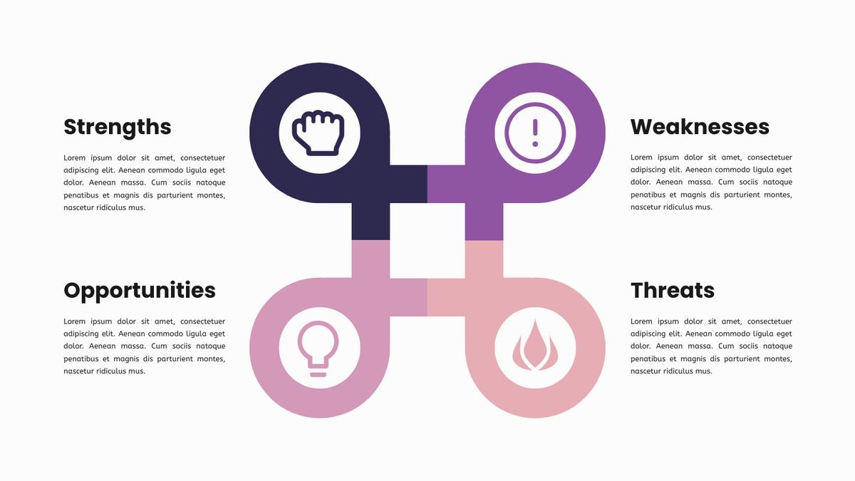 SWOT Analysis Model Infographics