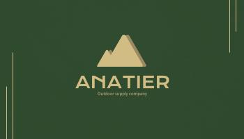 Business Card template: Anatier Business Cards (Created by InfoART's Business Card maker)