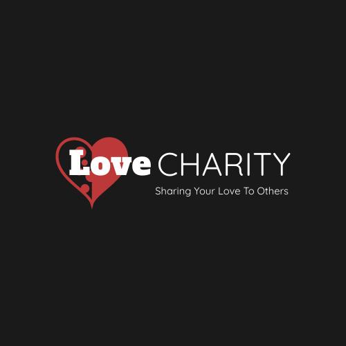 Logo template: Heart Logo Generated For Charity (Created by InfoART's Logo maker)