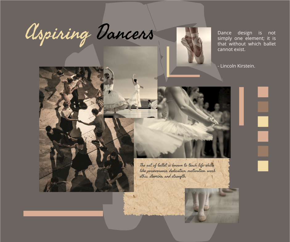 Facebook Post template: Ballet Collage Facebook Post (Created by Collage's Facebook Post maker)