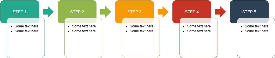 Process Block Diagram template: Accent Process (Created by Diagrams's Process Block Diagram maker)