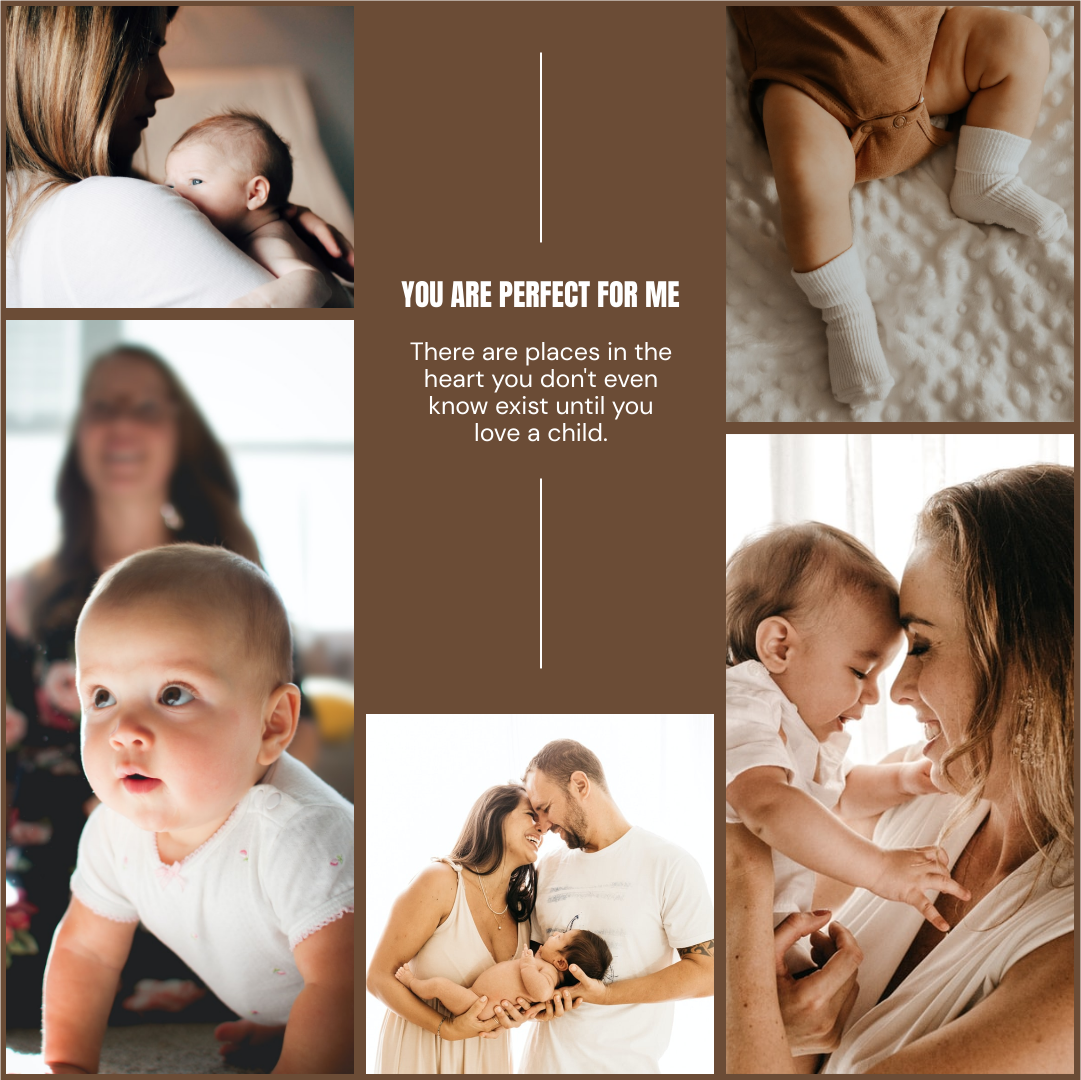 Photo Collage template: New Born Baby And Family Photo Collage (Created by Collage's Photo Collage maker)