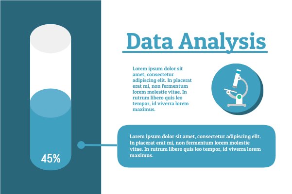Laboratory template: Science Data Analysis (Created by InfoChart's Laboratory maker)