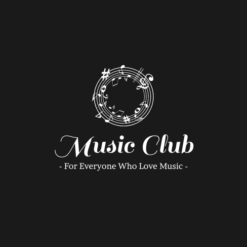 Logo template: Music Club Logo Created With Simple Words And Graphics (Created by InfoART's Logo maker)