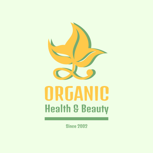 Logo template: Beauty Company Logo Generated With 2 Colours And Graphic of Leaf (Created by InfoART's Logo maker)