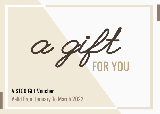 Gift Card template: 100 Gift Card (Created by InfoART's Gift Card marker)