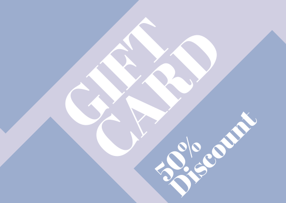 Gift Card template: Regular Gift Card (Created by InfoART's Gift Card marker)