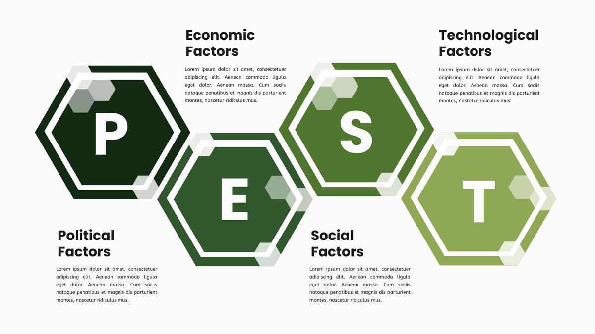 PEST Framework Infographic