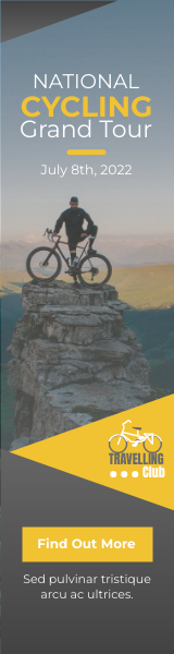 Wide Skyscraper Banner template: Cycling Club Wide Skyscraper Banner (Created by InfoART's Wide Skyscraper Banner maker)