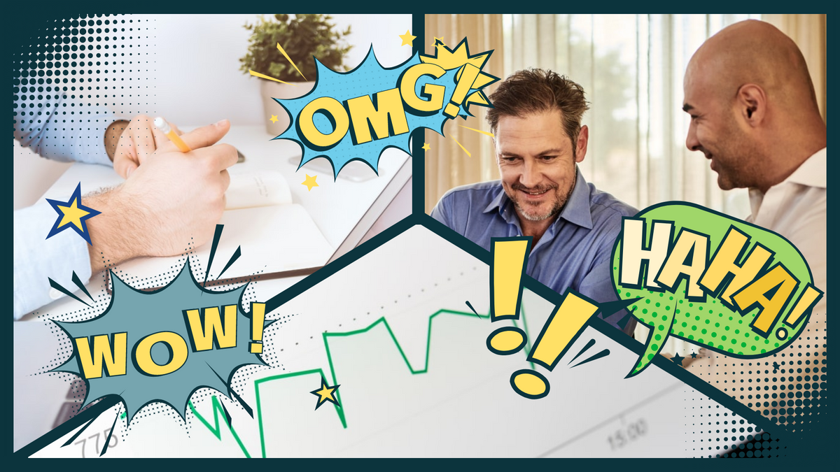 Comic Strip template: Business Comic Strip (Created by Collage's Comic Strip maker)