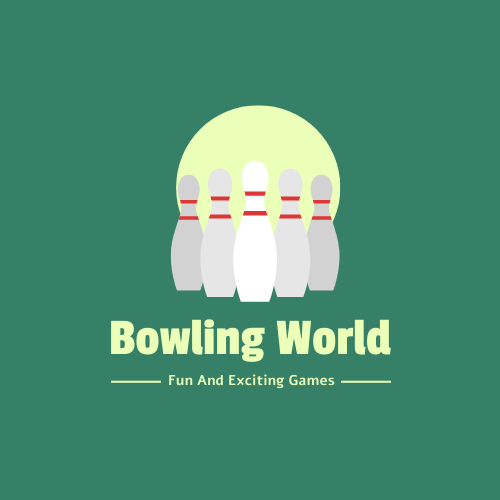 Logo template: Bowling Logo Created With Illustration In Green Colour Tone (Created by InfoART's Logo maker)