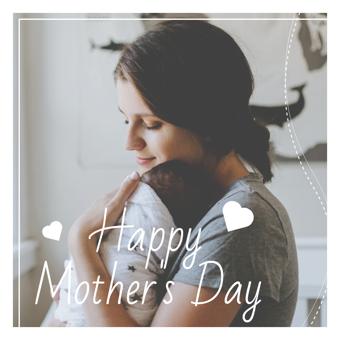 Instagram Post template: Simple Mother's Day Celebration Instagram Post In Bright Colour Tone (Created by InfoART's Instagram Post maker)