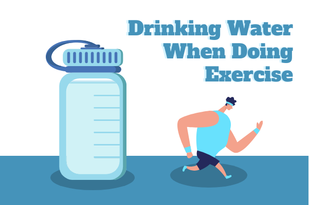 Medical template: Drinking Water When Doing Sports (Created by InfoChart's Medical maker)
