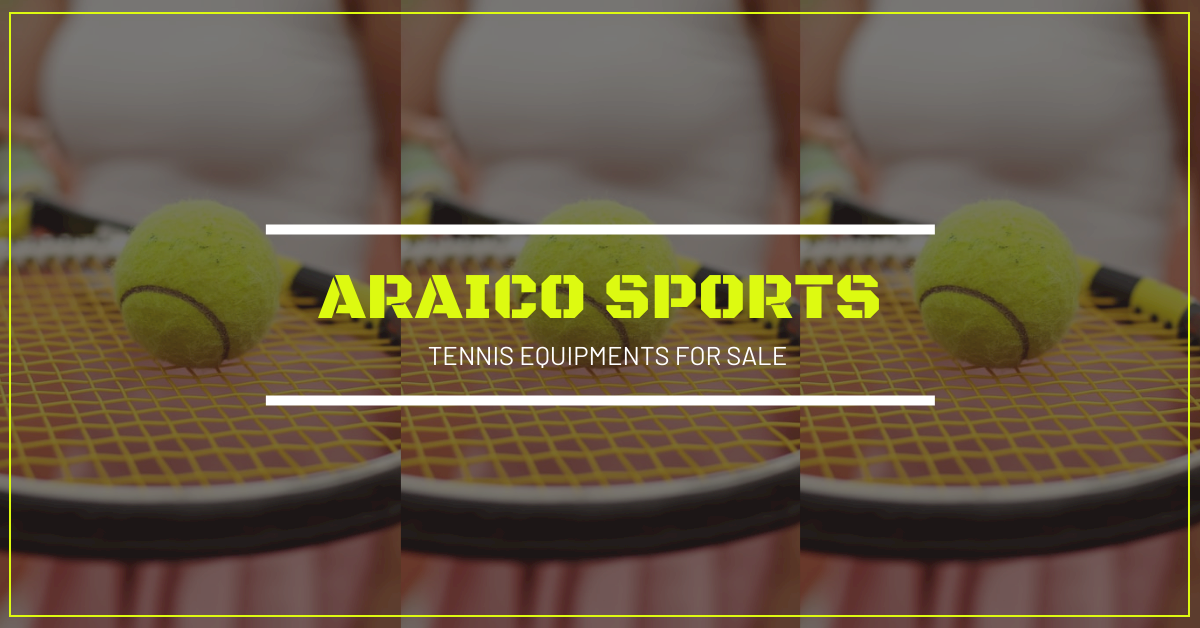 Facebook Ad template: Tennis Photo Sports Equipment Facebook Ad (Created by InfoART's Facebook Ad maker)