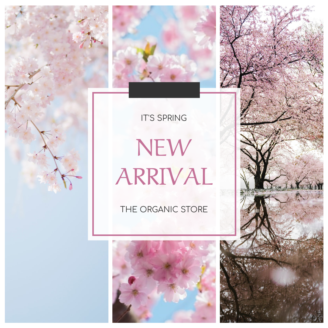 Instagram Post template: Cherry Blossom New Arrival Instagram Post (Created by InfoART's Instagram Post maker)