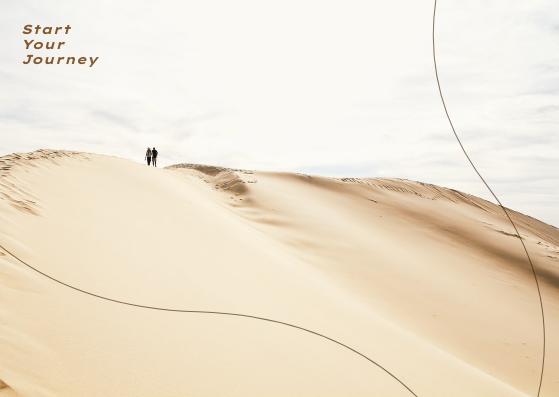 Postcard template: Start Your Journey Postcard (Created by InfoART's Postcard maker)