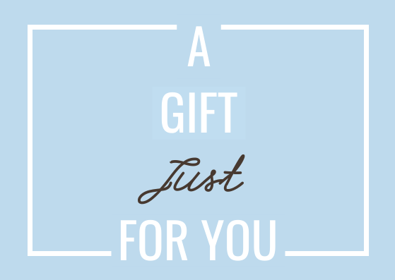 Gift Card template: A Gift For You Gift Card (Created by InfoART's Gift Card marker)