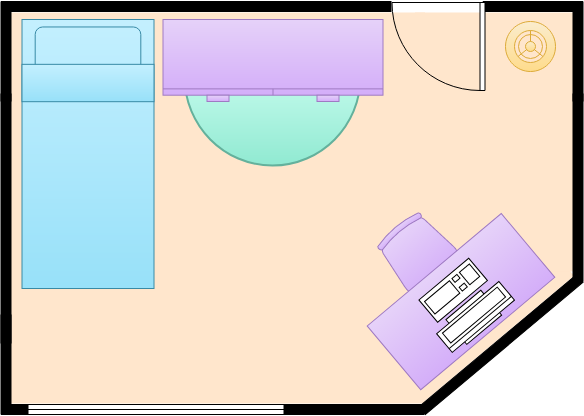 Small Bedroom (Bedroom Example)