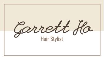 Business Card template: Hair Stylist Business Card (Created by InfoART's Business Card maker)