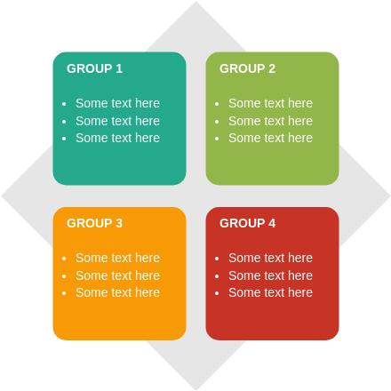 Matrix Block Diagram template: Basic Matrix (Created by Diagrams's Matrix Block Diagram maker)
