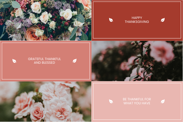 Greeting Card template: Happy Thanks Giving Greeting Card (Created by Collage's Greeting Card maker)