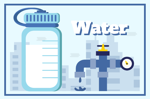 Container template: Water (Created by InfoChart's Container maker)