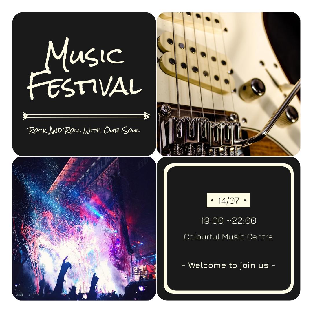 Instagram Post template: Music Festival Instagram Post (Created by InfoART's Instagram Post maker)