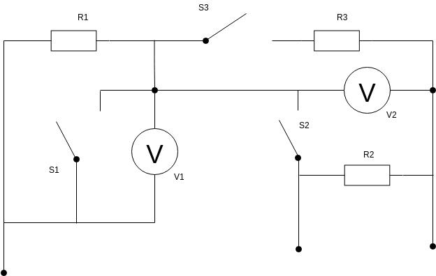 Basic Electrical Diagram template: Basic Electrical Diagram (Created by Diagrams's Basic Electrical Diagram maker)