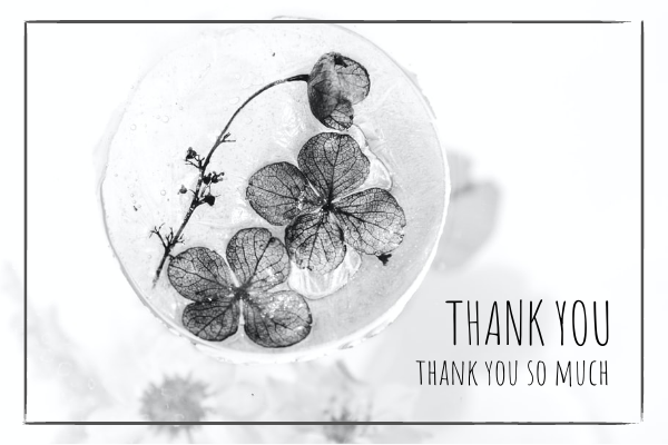 Greeting Card template: Thankyou Card (Created by InfoART's Greeting Card marker)