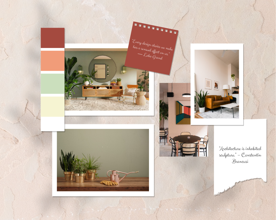 Mood Board template: Natural Interior Mood Board (Created by Collage's Mood Board maker)