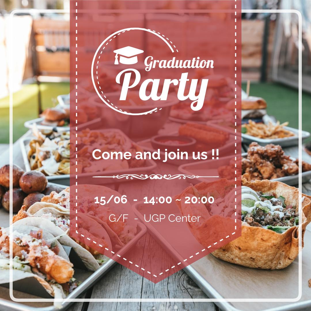 Instagram Post template: Graduation Party Instagram Post (Created by InfoART's Instagram Post maker)