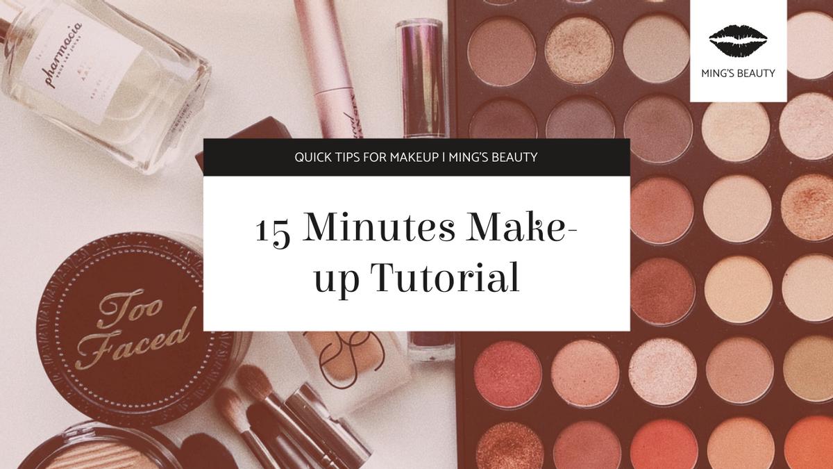 YouTube Thumbnail template: Cosmetics Photo Make-up Tutorial YouTube Thumbnail (Created by InfoART's YouTube Thumbnail maker)